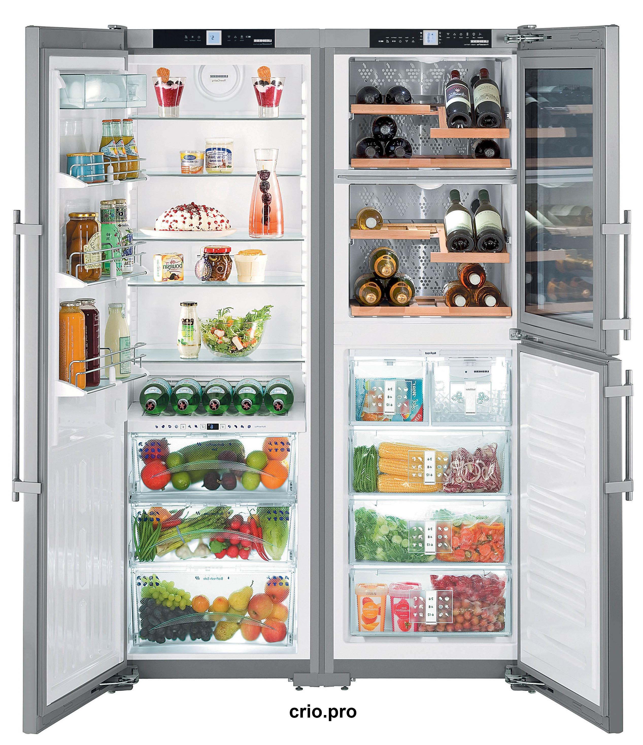 Основные характеристики холодильника