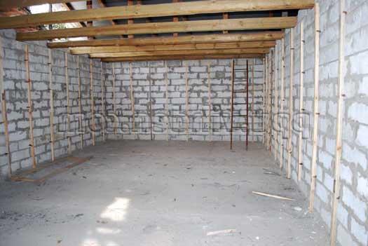 Утепление стен имеющегося помещения.