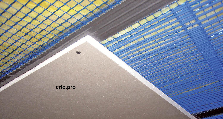 Холодный потолок на ГКЛ