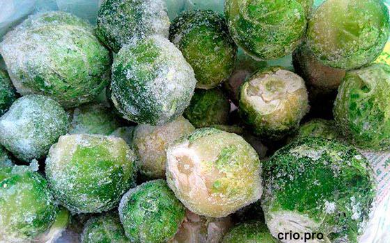 Овощи в морозилке
