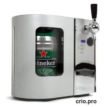 Холодильник для бочонка с пивом