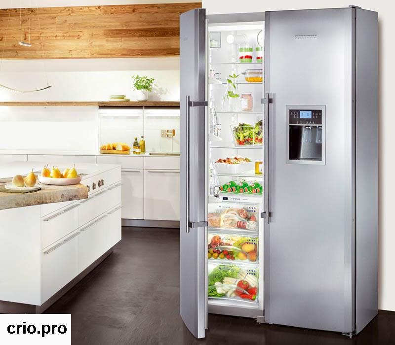 Холодильник из нержавейки