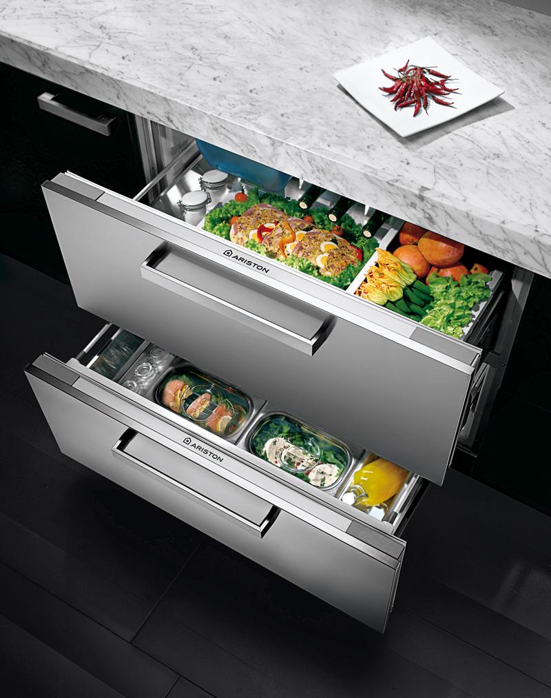 Ariston под столешницу холодильник