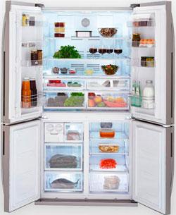Двухкамерный холодильник Веко