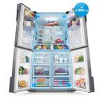 Объем бытового холодильника