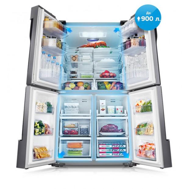 Огромный холодильник для семьи