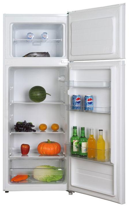 Холодильник Shivaki маленький двухкамерный