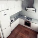 Встроенные холодильники в кухню