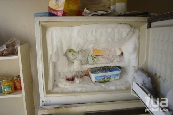 Верхний морозильник