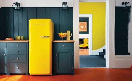 Перекрашиваем холодильник