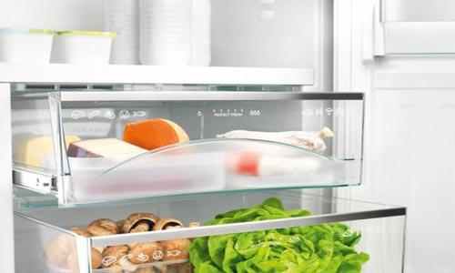 Продукты в морозильнике