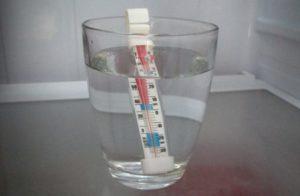 Контроль температуры в морозильнике