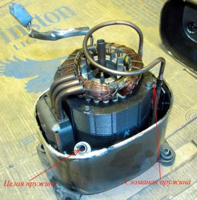 Замена мотора компрессора
