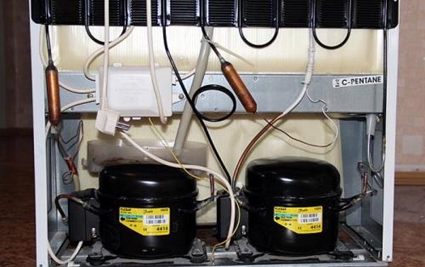 Хотпойнт Аристон с 2 компрессорами